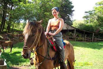 Monteverde horseback riding 1
