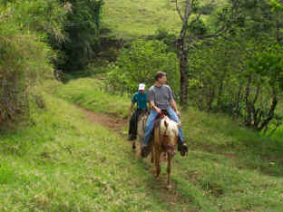 Monteverde horseback riding 2